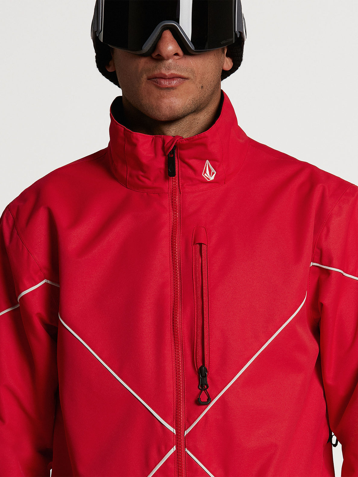 Mens No Hood X Jacket - Red (G0652114_RED) [04]
