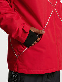 Mens No Hood X Jacket - Red (G0652114_RED) [06]