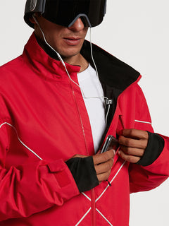 Mens No Hood X Jacket - Red (G0652114_RED) [07]