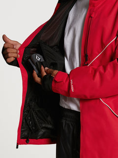 Mens No Hood X Jacket - Red (G0652114_RED) [08]