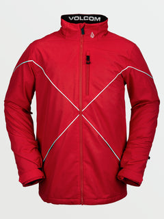 Mens No Hood X Jacket - Red (G0652114_RED) [F]