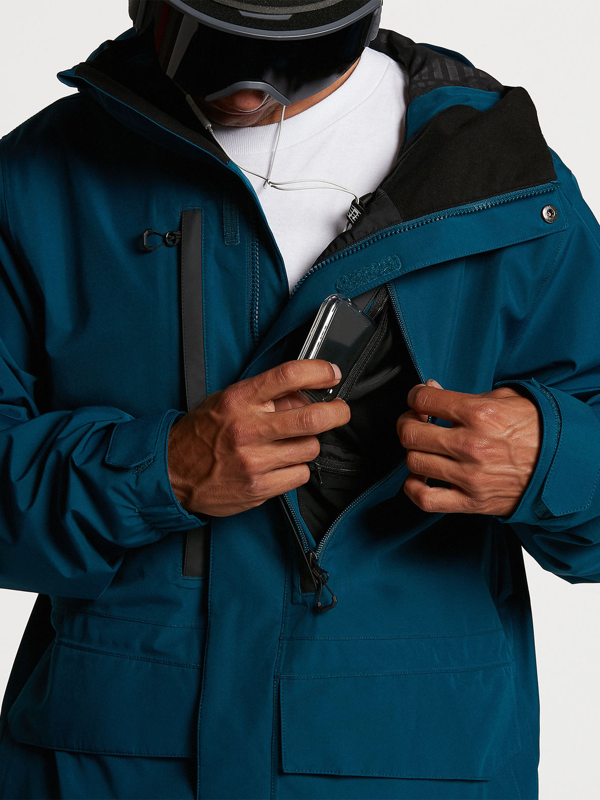 Mens Ten GORE-TEX Jacket - Blue (G0652116_BLU) [07]