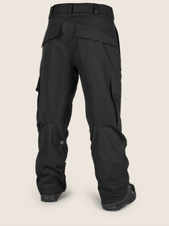 Eastern Insulated Pant In Black, Back View