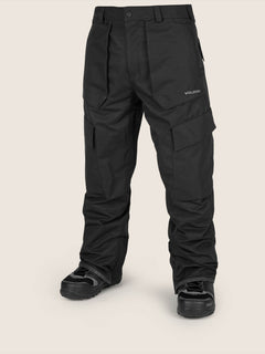 Eastern Insulated Pant In Black, Front View