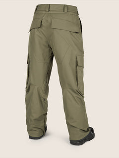 Eastern Insulated Pant In Snow Military, Back View