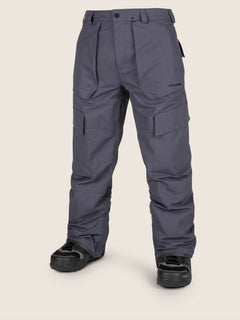 Eastern Insulated Pant In Vintage Navy, Front View
