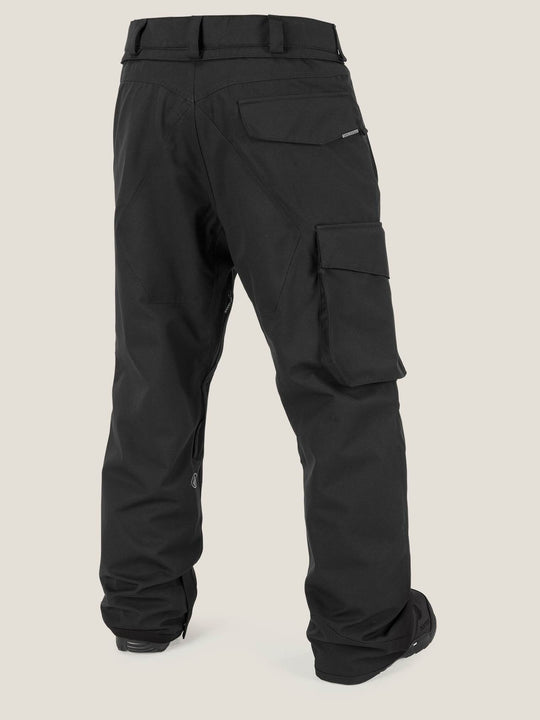 Ventral Pant In Black, Back View
