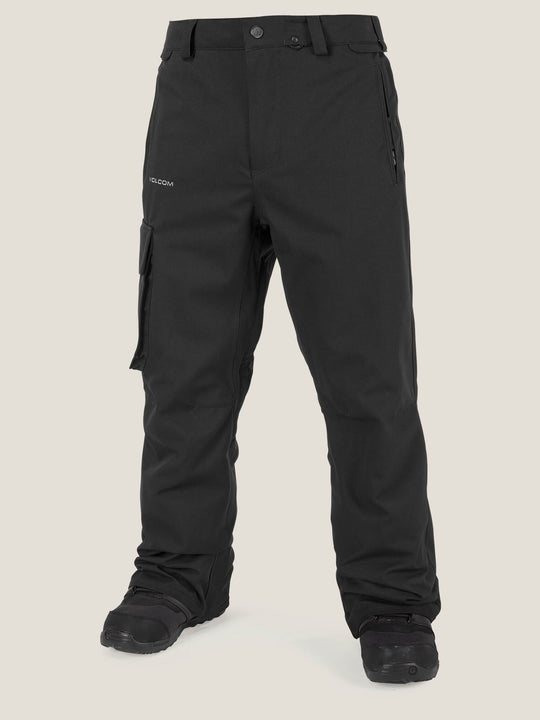 Ventral Pant In Black, Front View