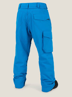 Ventral Pant In Blue, Back View