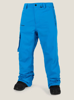 Ventral Pant In Blue, Front View