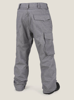 Ventral Pant In Heather Grey, Back View