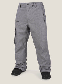 Ventral Pant In Heather Grey, Front View