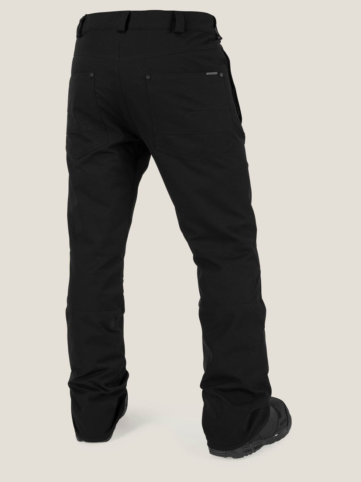 Klocker Tight Pant In Black, Back View