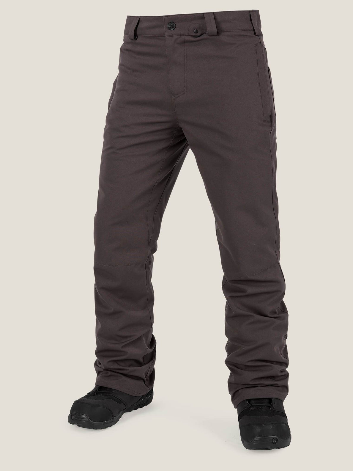 Klocker Tight Pant In Vintage Black, Front View