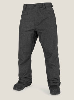 Carbon Pant In Black, Front View
