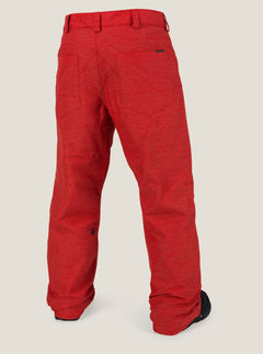 Carbon Pant In Fire Red, Back View