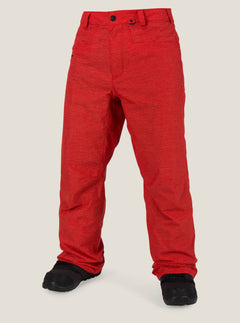Carbon Pant In Fire Red, Front View