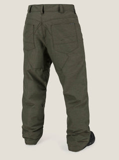 Carbon Pant In Snow Military, Back View