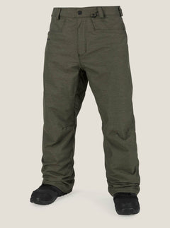 Carbon Pant In Snow Military, Front View