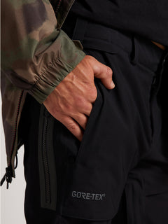 Stretch Gore-tex Pant In Black, Alternate View