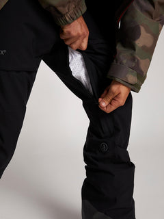 Stretch Gore-tex Pant In Black, Second Alternate View