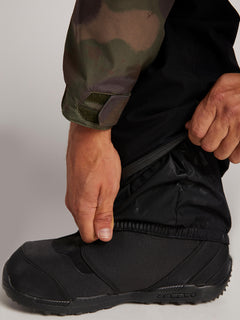 Stretch Gore-tex Pant In Black, Third Alternate View