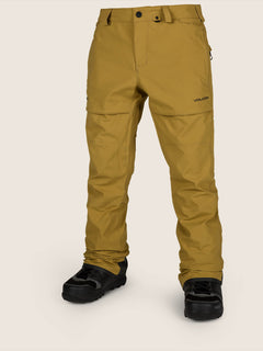 Stretch Gore-tex Pant In Resin Gold, Front View