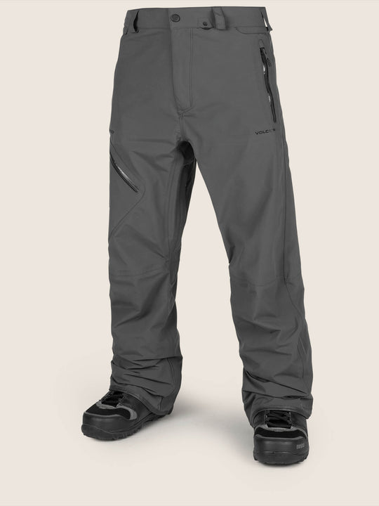 L Gore-tex Pant In Vintage Black, Front View