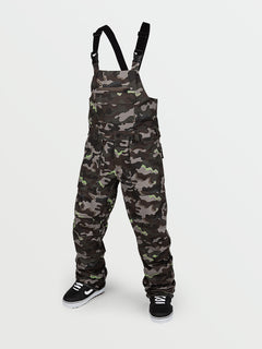 Mens Roan Bib Overall - Army (G1351909_ARM) [F]