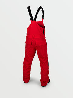 Mens Roan Bib Overall - Red (G1351909_RED) [B]