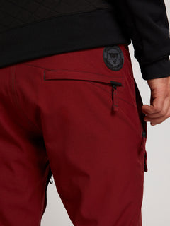Pat Moore Pant In Burnt Red, Second Alternate View