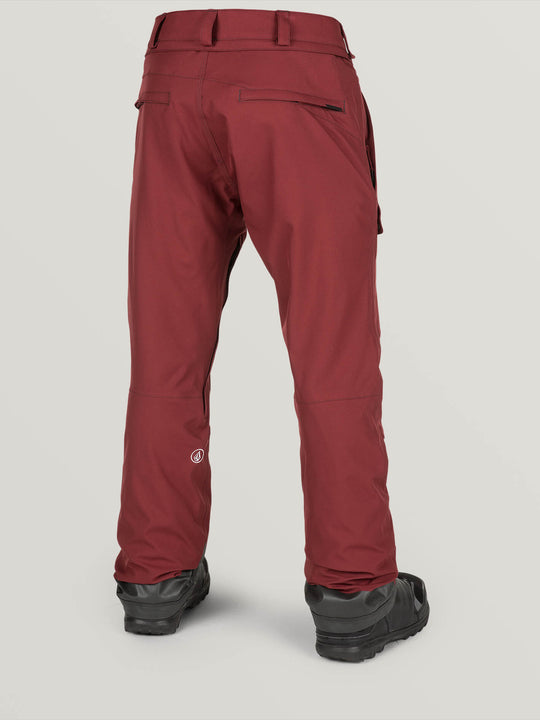 Pat Moore Pant In Burnt Red, Back View
