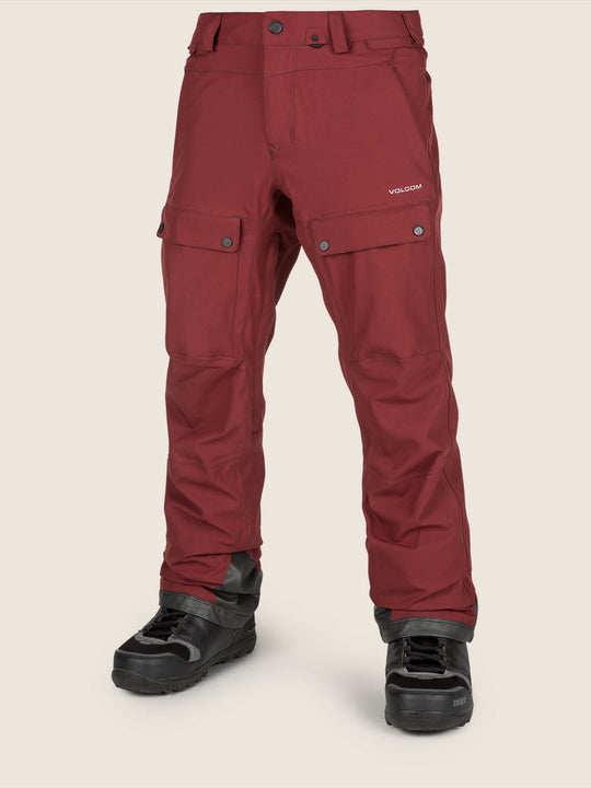 Pat Moore Pant In Burnt Red, Front View