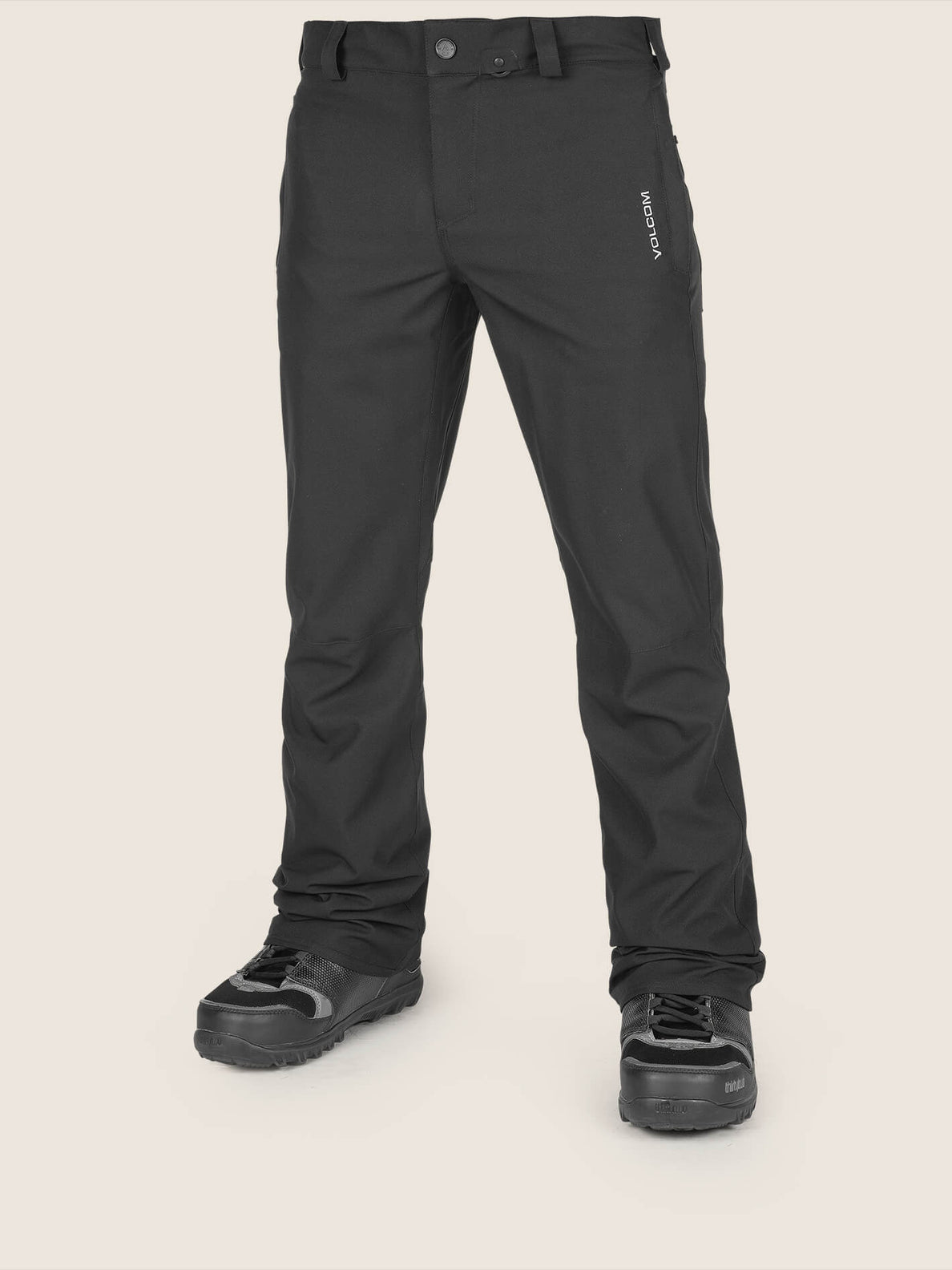 Klocker Tight Pant In Black, Front View