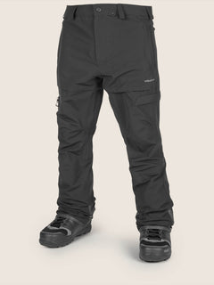 Gi Pant In Black, Front View