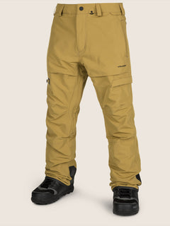 Gi Pant In Resin Gold, Front View