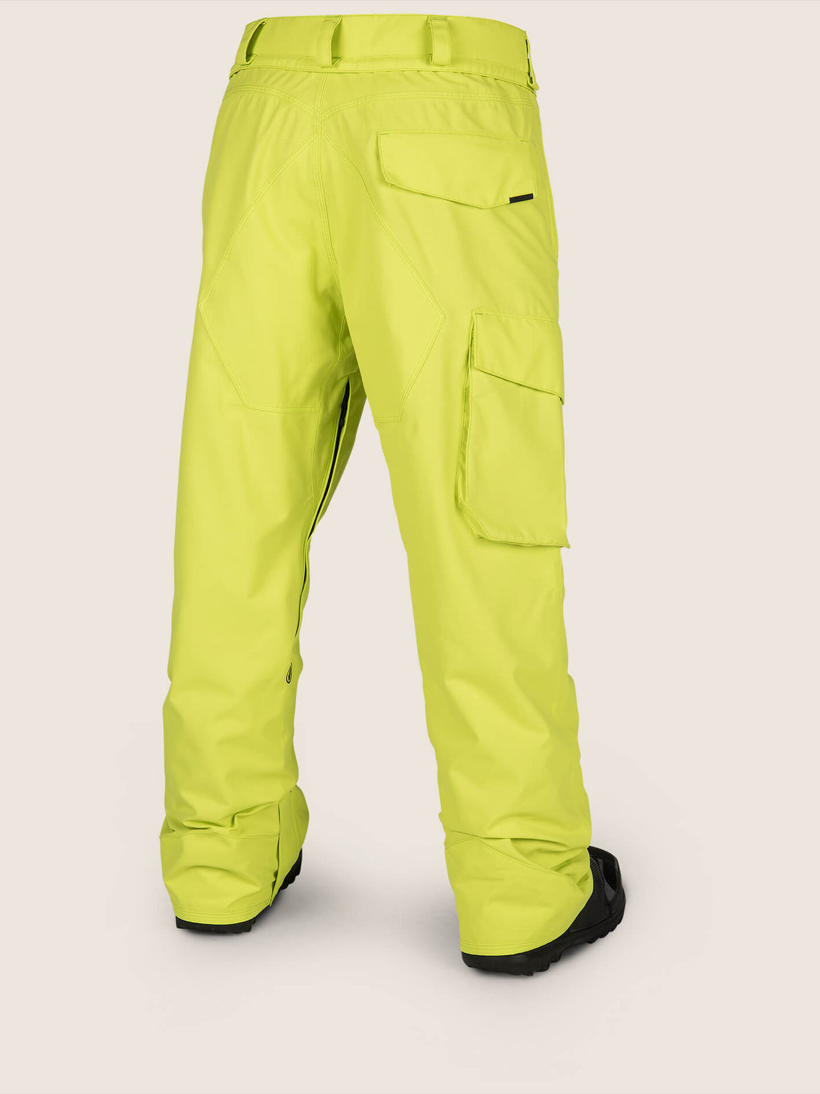 Ventral Pant In Lime, Back View