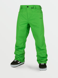 Mens Carbon Pants - Green (G1352112_GRN) [F]