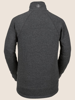 Riding Raglan In Black, Back View