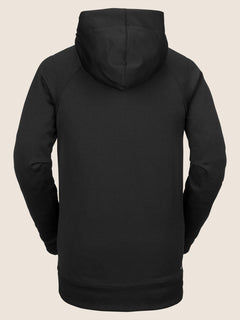 Hydro Riding Hoodie In Black, Back View