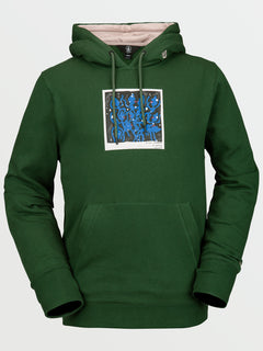Mens Arthur Longo DI Pullover Hoodie - Forest- Forest (G4152106_FRS) [F]