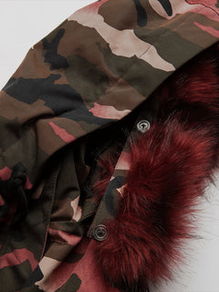 Womens Ryn Parka - Faded Army