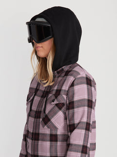 HOODED FLANNEL JKT (H0252005_PUH) [3]