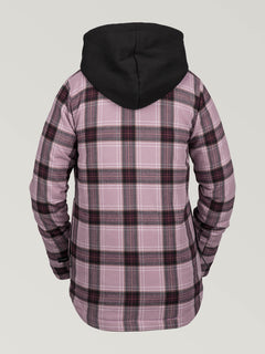 HOODED FLANNEL JKT (H0252005_PUH) [B]