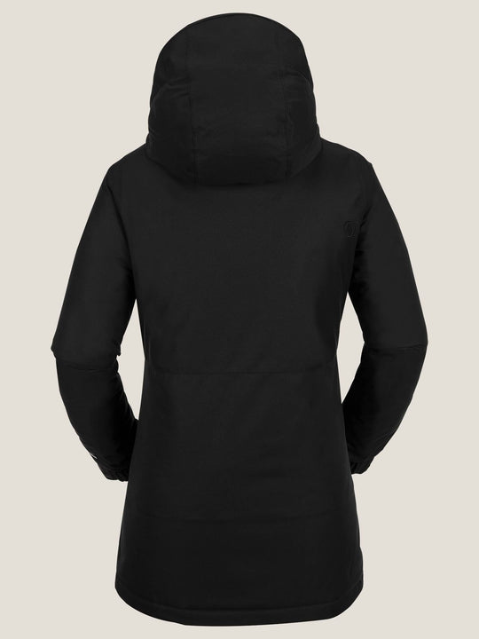 Act Insulated Jacket In Black, Back View