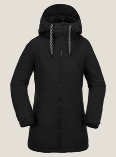 Act Insulated Jacket In Black, Front View