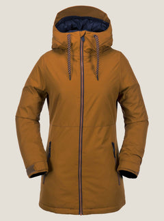Act Insulated Jacket In Copper, Front View