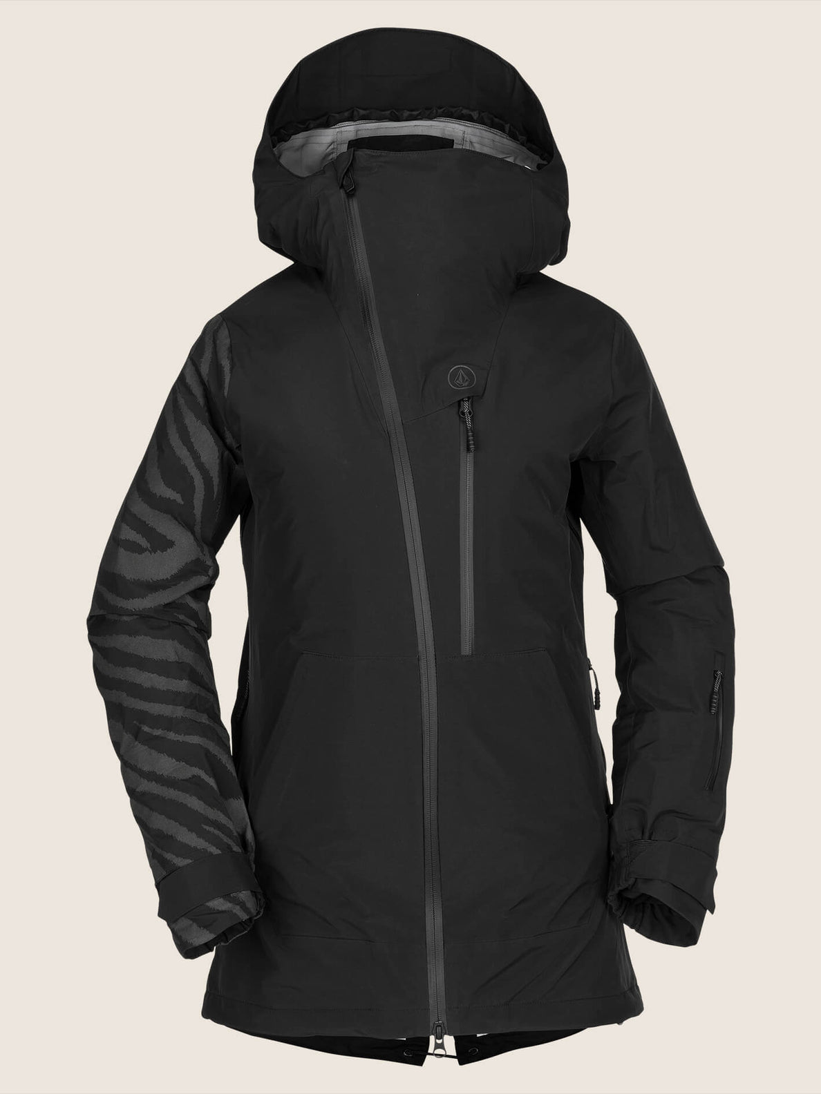 Nya Tds® Gore-tex Jacket In Black, Front View