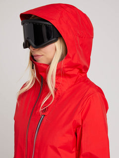 Nya Tds® Gore-tex Jacket In Crimson, Alternate View