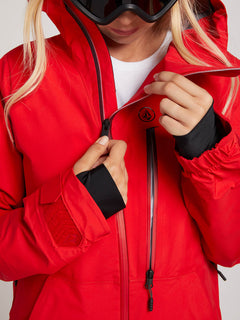 Nya Tds® Gore-tex Jacket In Crimson, Second Alternate View